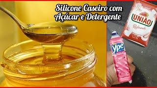 Cola De Silicone Caseira Com 2 Materiais