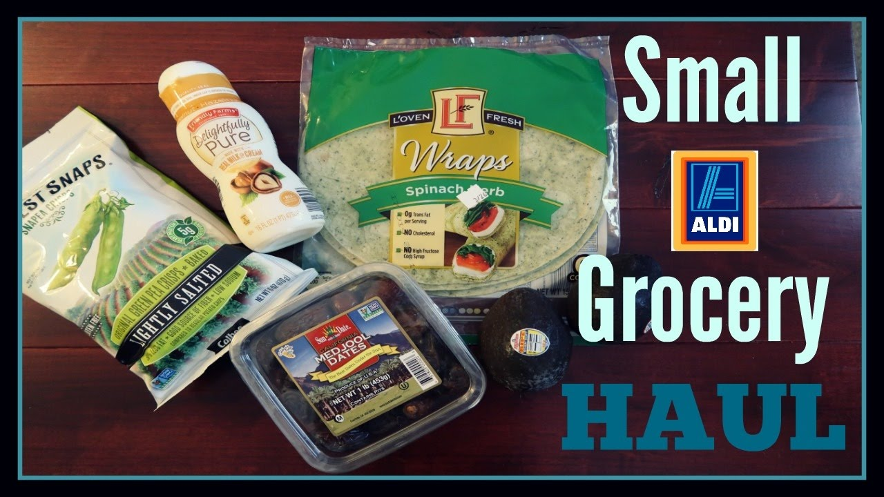 Healthy $40 Grocery Haul  Aldi Shopping On A College Budget