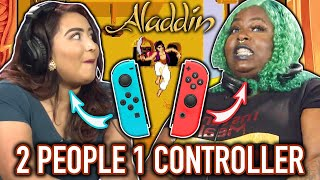 Couples Vs. Ex's - 2 People 1 Controller Challenge