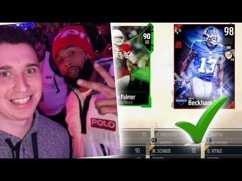 ONLY Can DRAFT Player If I I Have Met Them In PERSON! Madden 18 Draft
