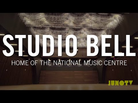 Tour Studio Bell, Home of the National Music Centre | JUNO TV