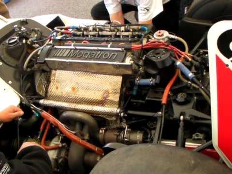 The Ps Turbo F1 Sound Arrows Megatron Turbo Engine