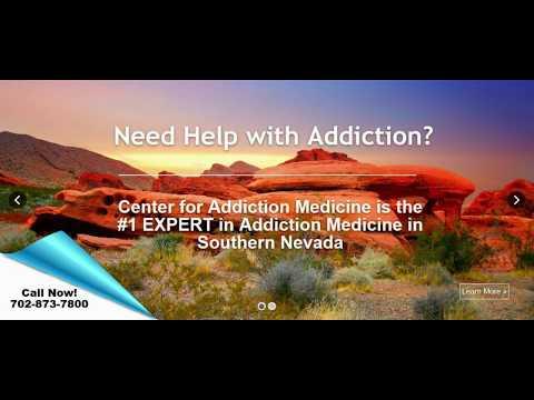 Alcohol And Drug Addiction Treatment in Las Vegas NV | Center for Addiction Medicine