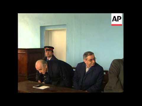 ALBANIA: TIRANA: TRIAL OF LAST COMMUNIST LEADER RAMIS ALIA BEGINS