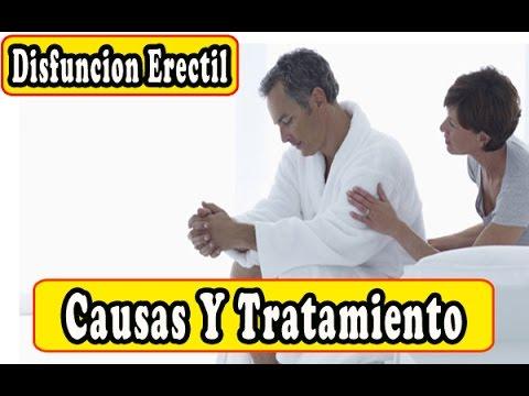 causas disfuncion erectil