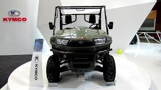2014 Kymco UXV 700i All Terrain Vehicle Walkaround - 2013 EICMA Milano Motorcycle Exhibition