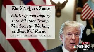 Frank Figliuzzi debunks Trump conspiracy