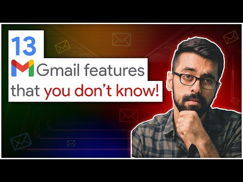 13 GMAIL Tricks & Features To Achieve NEXT LEVEL Professionally (Hindi)