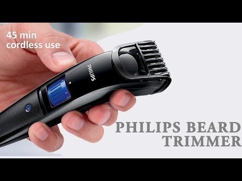 Philips beard trimmer cordless for men qt4001/15 review