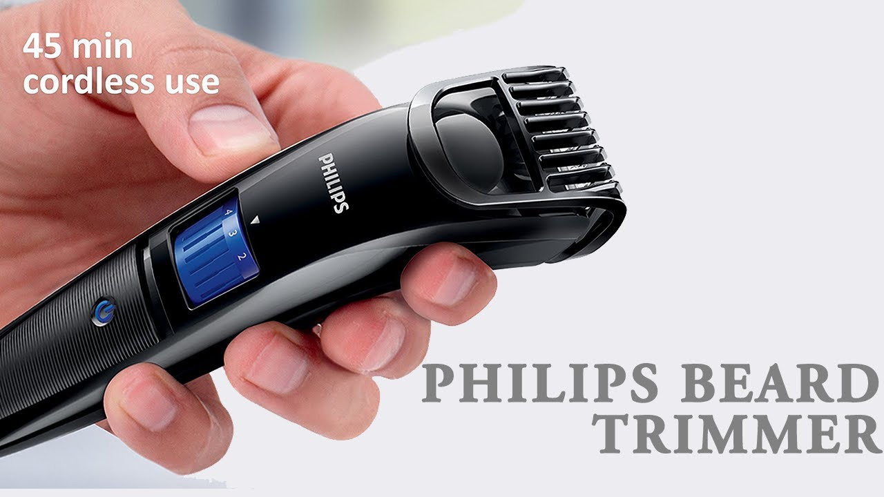philips beard trimmer cordless for men qt4001 15 review youtube. Black Bedroom Furniture Sets. Home Design Ideas