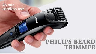 Philips beard trimmer cordless for men qt4001/15 review