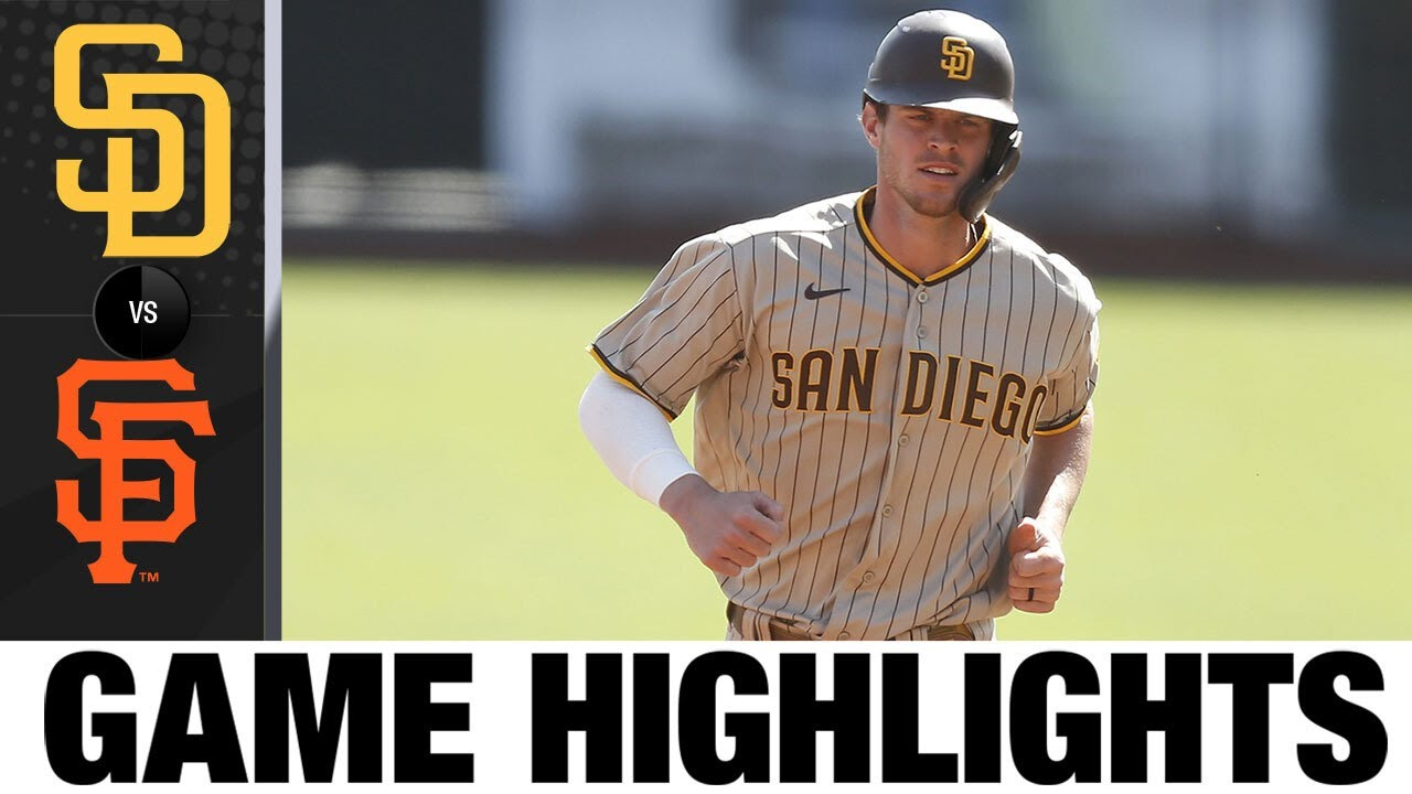 Wil Myers homers and drives in pair in Padres' win | Padres-Giants Game Highlights 9/27/20