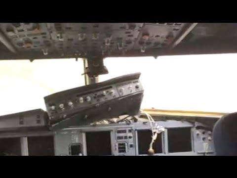 Flight 3U8633 lands safely after cockpit windshield breaks