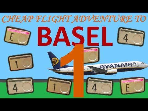 Cheap flight adventure to Basel (part 1)