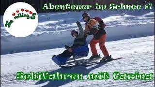 Abenteuer im Schnee #1   Schifahren trotz Rollstuhl