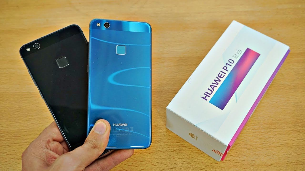 Huawei P10 Lite Unboxing & First Look! (4K) - YouTube
