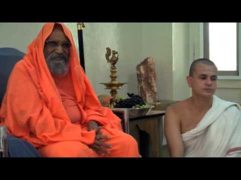 Satsanga com Sw Dayananda na visata da ABRA 2013