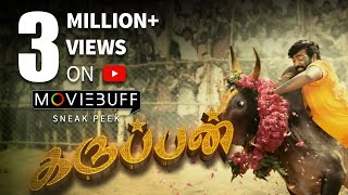 Karuppan - Moviebuff Sneak Peek | Vijay Sethupathi, Tanya - Directed by R Panneerselvam