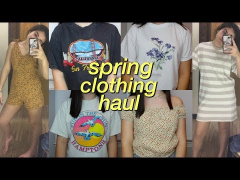 Spring Try On Clothing Haul | brandy...