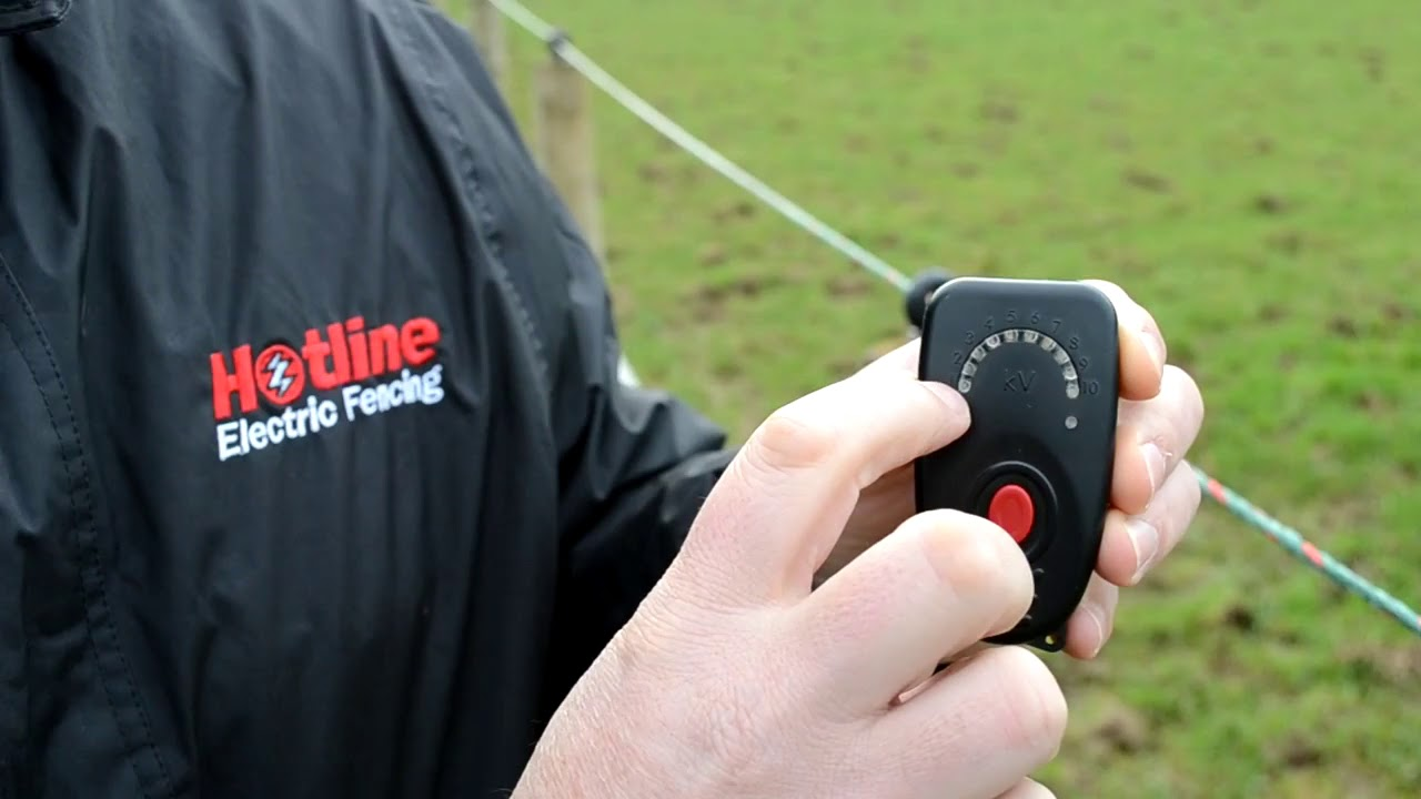 HOTLINE P208 AUDIBLE ELECTRIC FENCE TESTER by Hotline