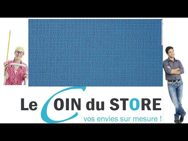 Toile PVC pour pergola et store Soltis Perform 92 Chardon bleu petrole 50270 Serge Ferrari