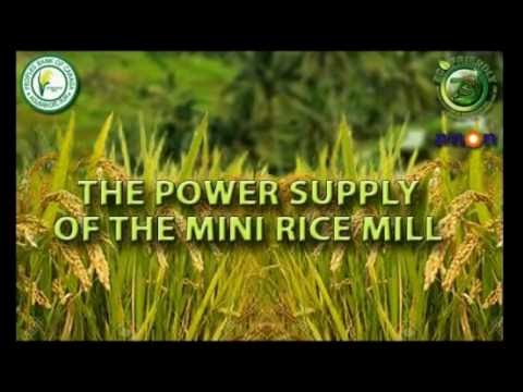 Solar Powered Mini Rice Mill