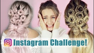 I Turned My Hair Into a Viral Flower Bouquet Hairstyle!! - KayleyMelissa