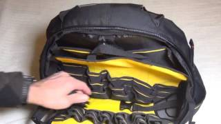 Stanley 195611 Fatmax Tools Backpack Racksack full look