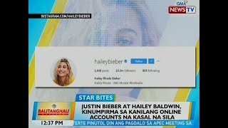 bt justin bieber and hailey baldwin kinumpirma sa kanilang online accounts na kasal na sila