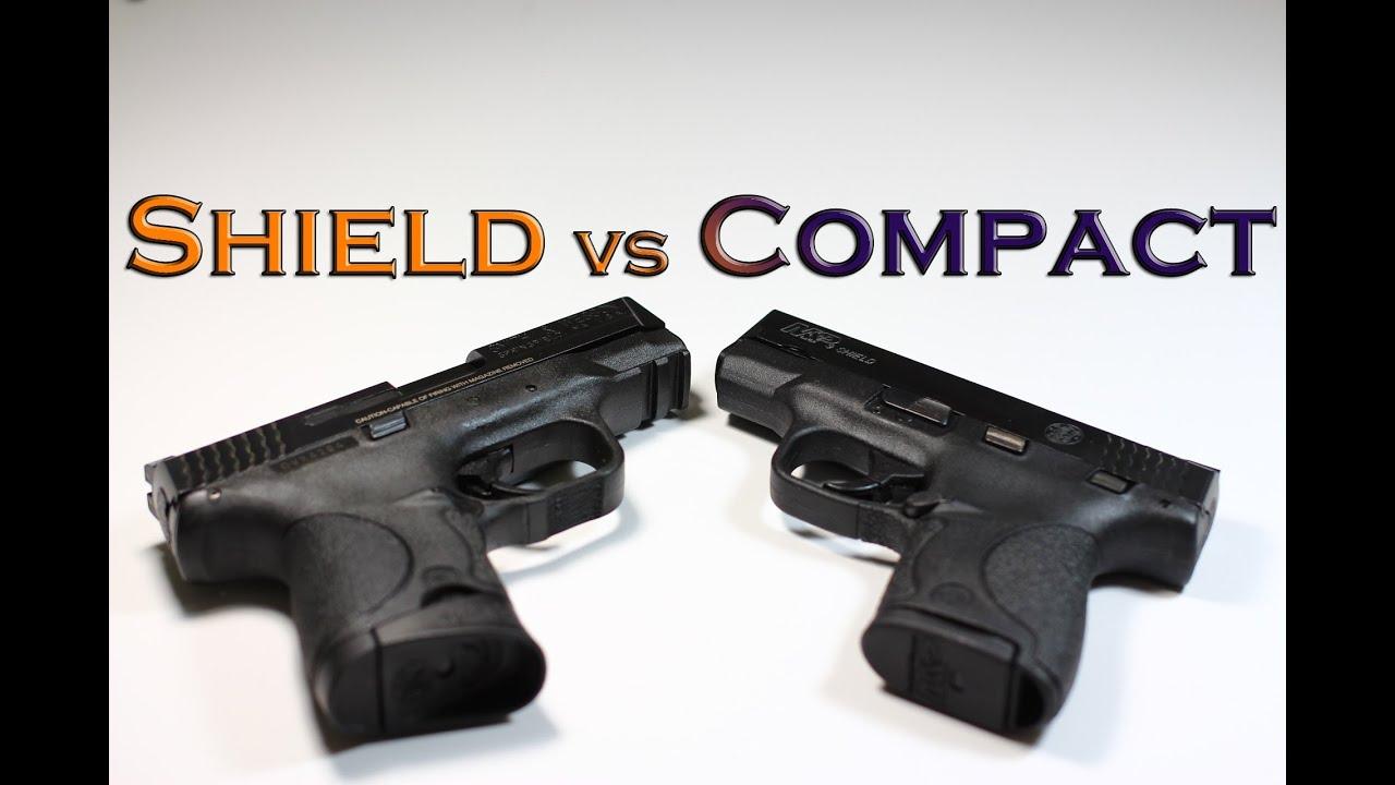 M And P Shield Vs Glock 26 M&P Compact vs M&a...