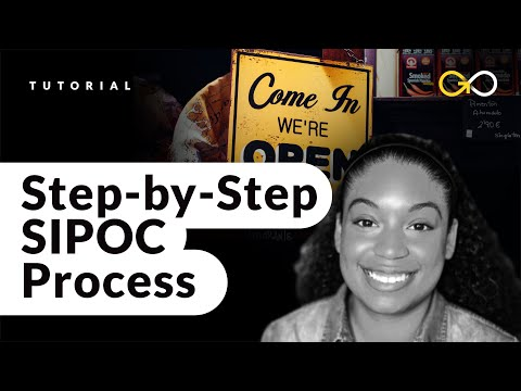 Step-by-Step SIPOC Process - Lean Six Sigma Training