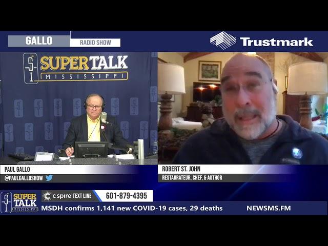 Robert St. John discusses RESTAURANTS Act