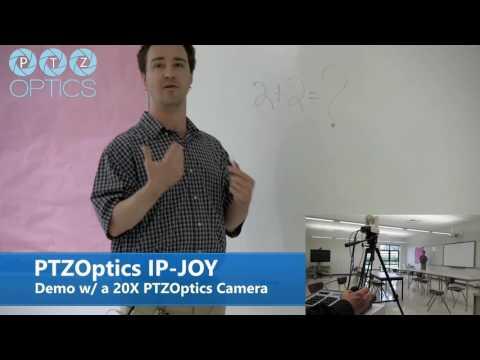 IP Joystick Controller Demo w/ 20X Camera