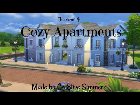 The sims 4 house build - Cozy Apartments
