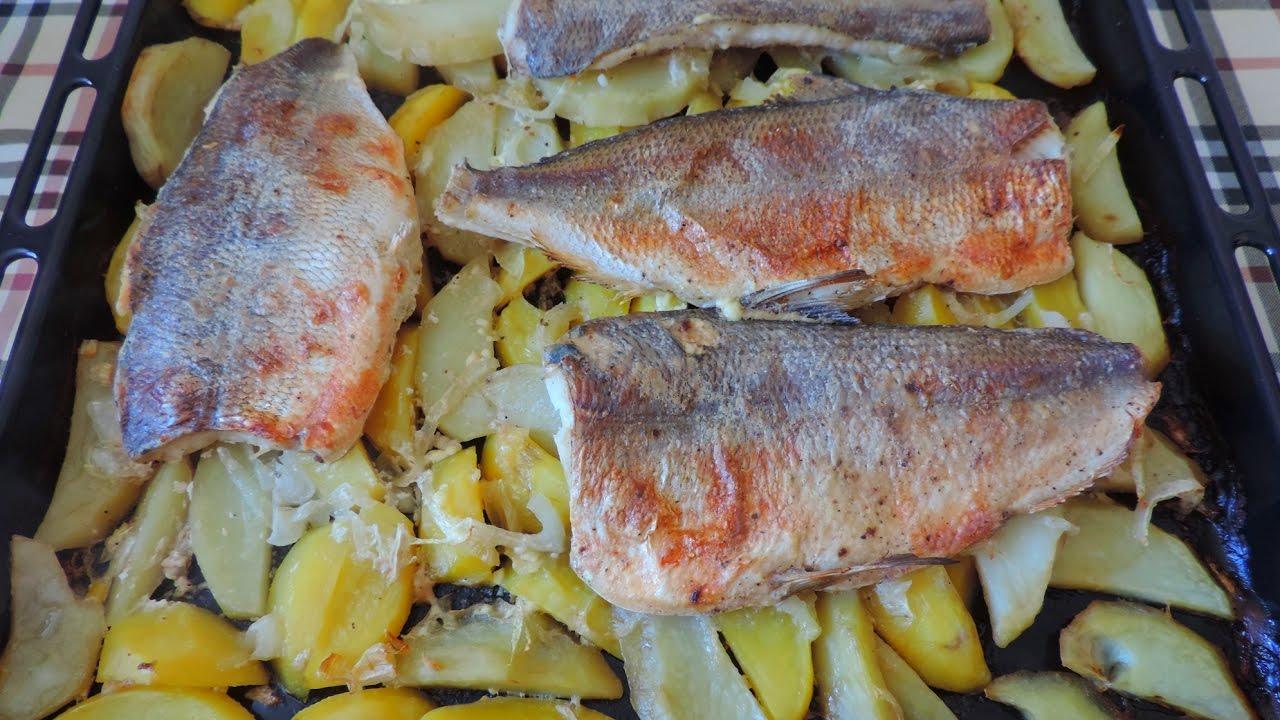 """Запекаем очень вкусную рыбку под названием """"Пелядь"""", с картошкой"""