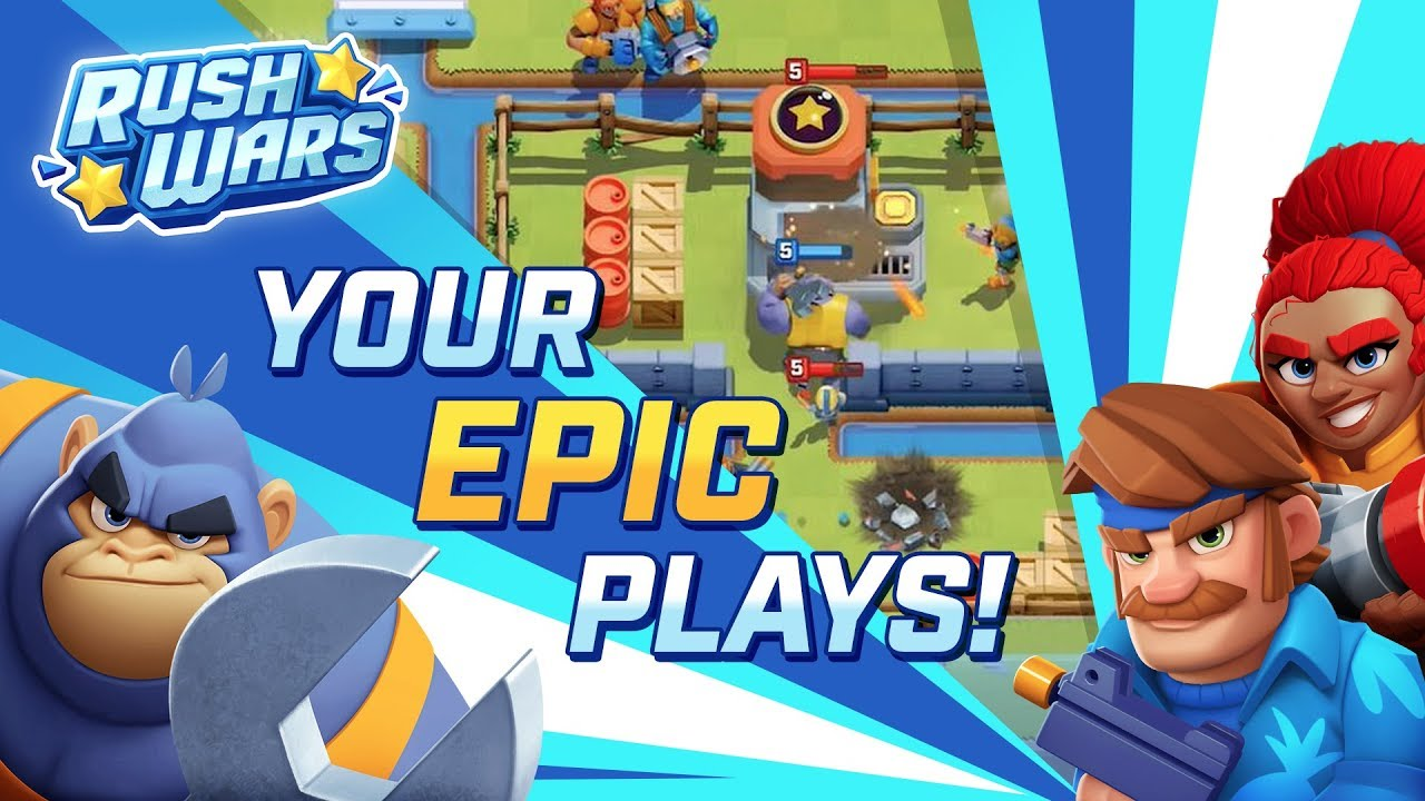 Rush Wars - Epic Community Plays #1