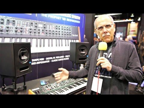 Dave Smith Instruments REV2 @ NAMM 2017