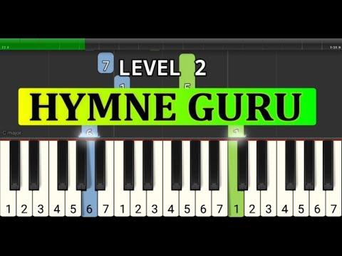 piano tutorial hymne guru - pahlawan tanpa tanda jasa