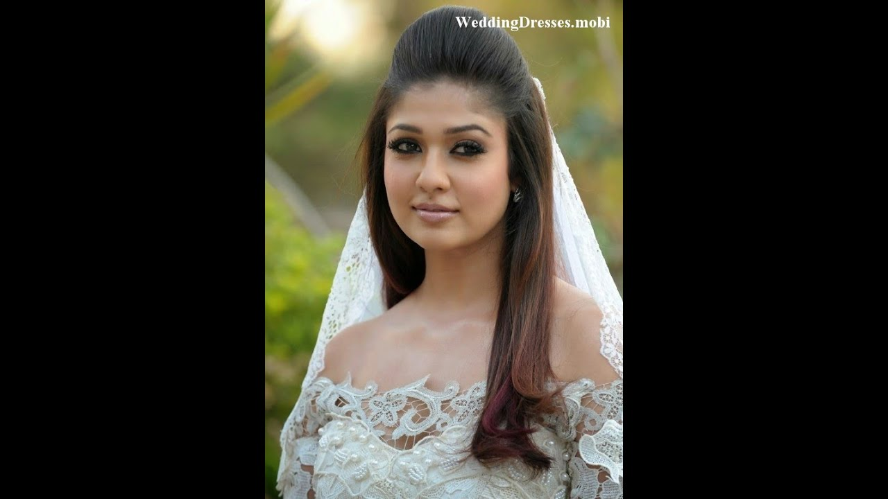 Tamil Actress In Wedding Dresses