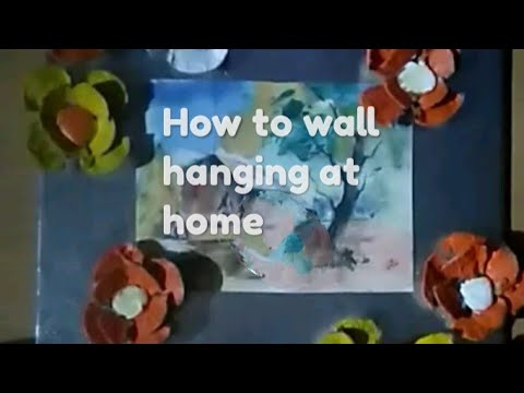 how-to-make-a-simple-wall-hanging-at-home