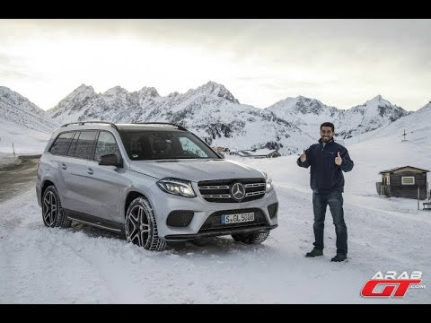 Mercedes GLS 2016 تجربة قيادتنا الاولى لمرسيدس جي ال اس