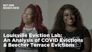 COVID Evictions & Beecher Terrace Evictions | Louisville Eviction Lab