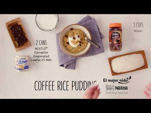 Recipe: Coffee Rice Pudding