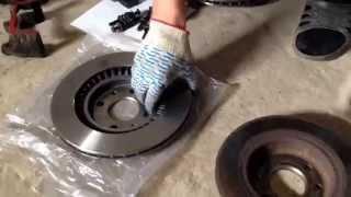 Замена дисковых тормозов на ВАЗ 2108 R13 на R14