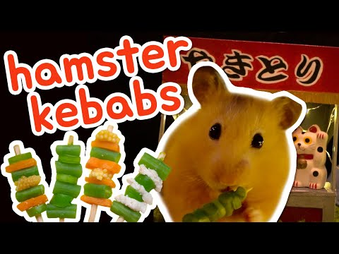 🍡 Chicken And Vegetable Skewers | HAMSTER KITCHEN 🍢