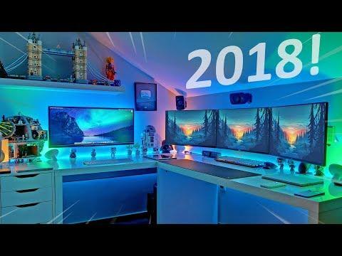 Melhor Quarto Gaming | Setup Tour 2018 !!