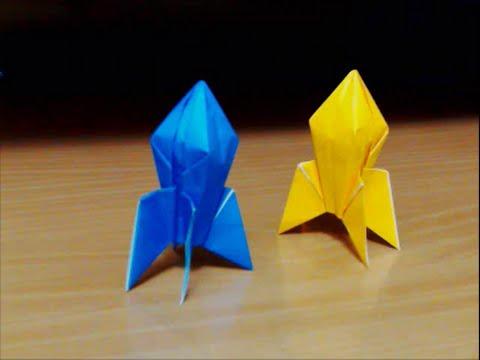 折り 折り紙 ロケット 折り紙 : youtube.com