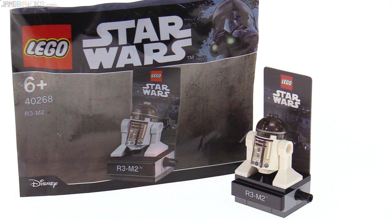 Lego ® polybag Star Wars ™ 40268 r3-m2 New sin usar