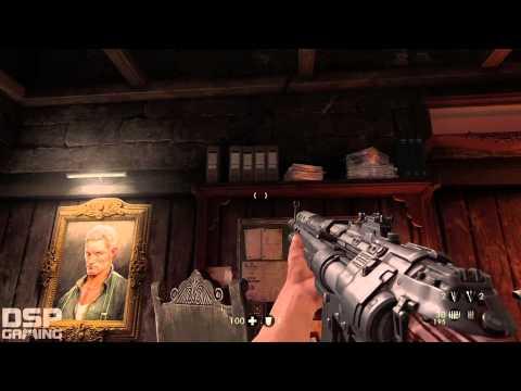 Wolfenstein: The Old Blood playthrough pt10 - Secret Hamlet Room!