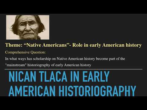 Nican Tlaca University- Native Americans in Early US History